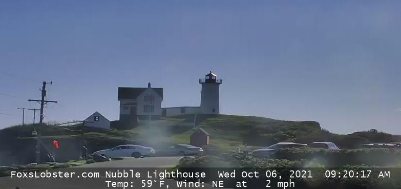 York Nubble Lighthouse Webcam